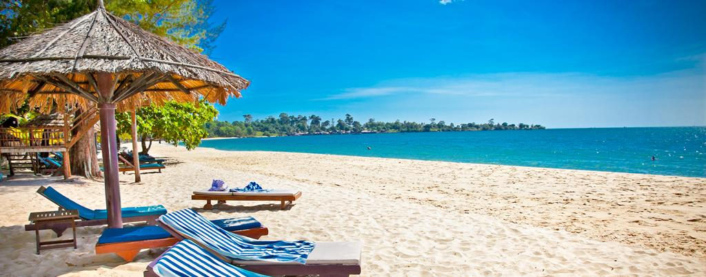 beaches of cambodgia